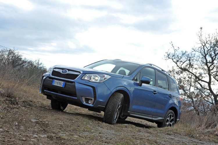 Subaru Forester Boxer Diesel Lineartronic Uphill