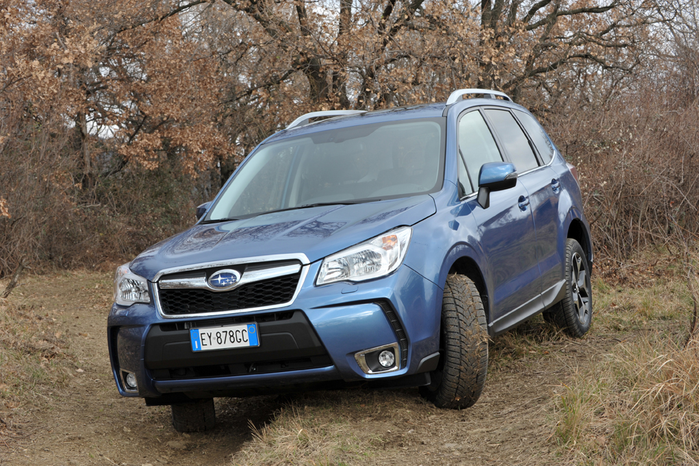 Subaru Forester: Boxer-Diesel mit Lineartronic Automatik.