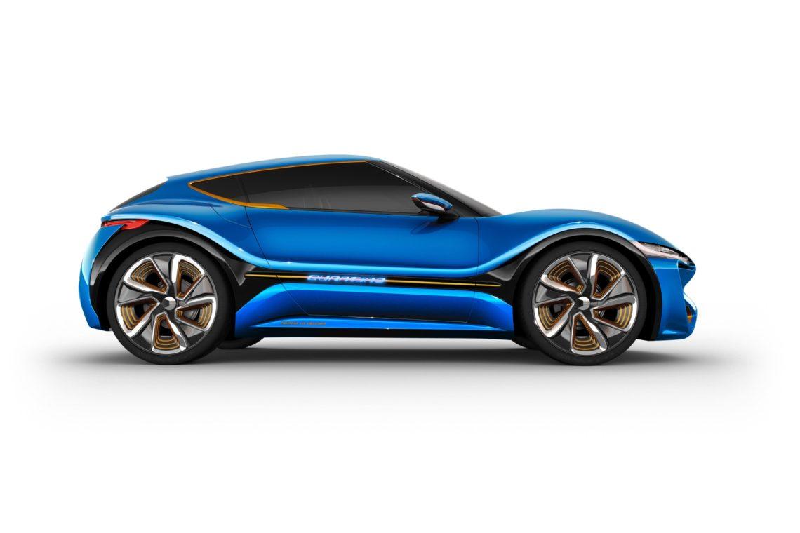 Nanoflowcell Quantino, Elektroauto mit 1000KM Reichweite