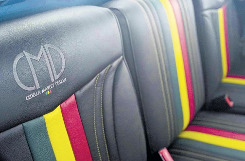 Land Rover Series III Bob Marley, Interiordesign by Cedella