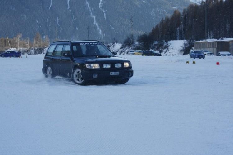 Subaru Club Rheintal Winterfahrtraining in Zernez