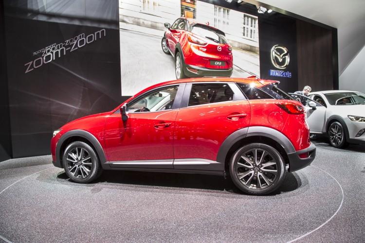 Mazda CX-3 Autosalon Genf 2015