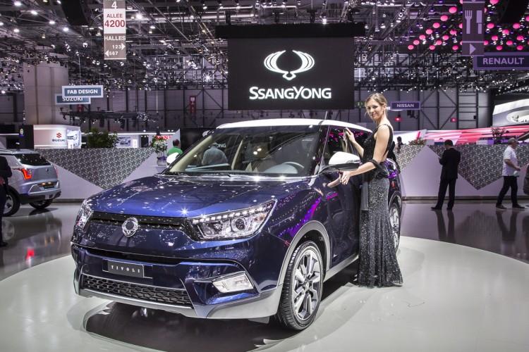 SsangYong Tivoli Autosalon Genf 2015