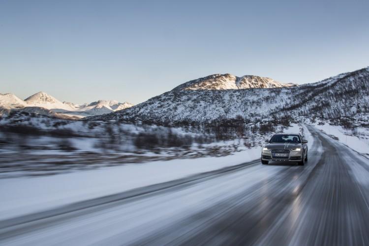 Audi A6 Allroad Norwegen