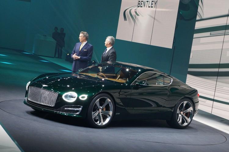 Bentley Speed Automobilsalon Genf 2015