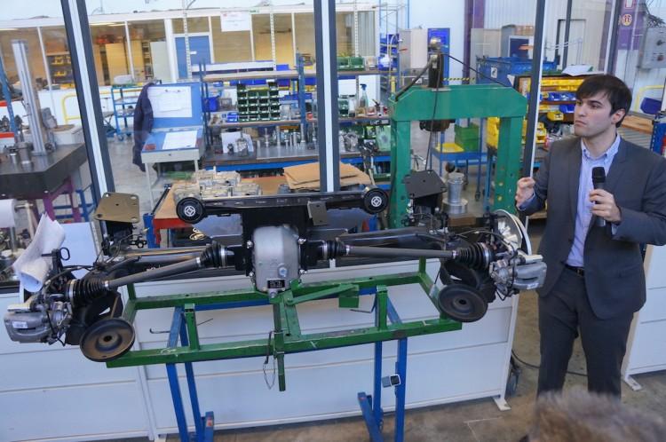 Dangel 4x4 Produktion
