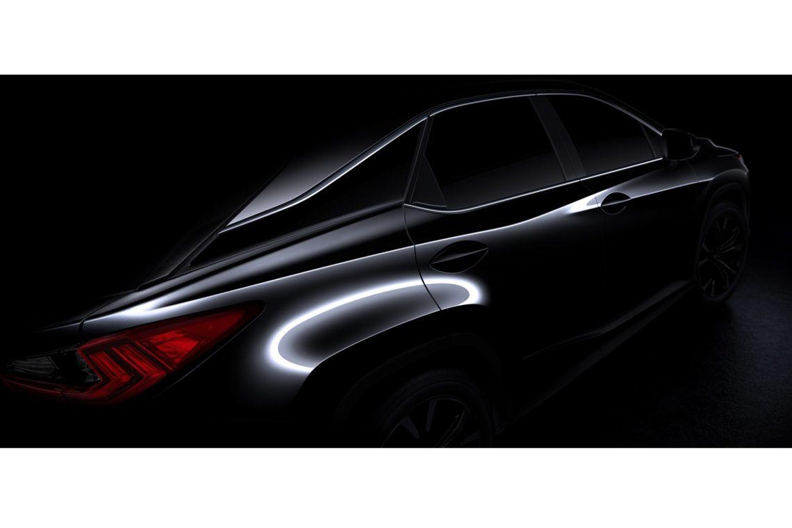Der Lexus RX geht in die vierte Generation