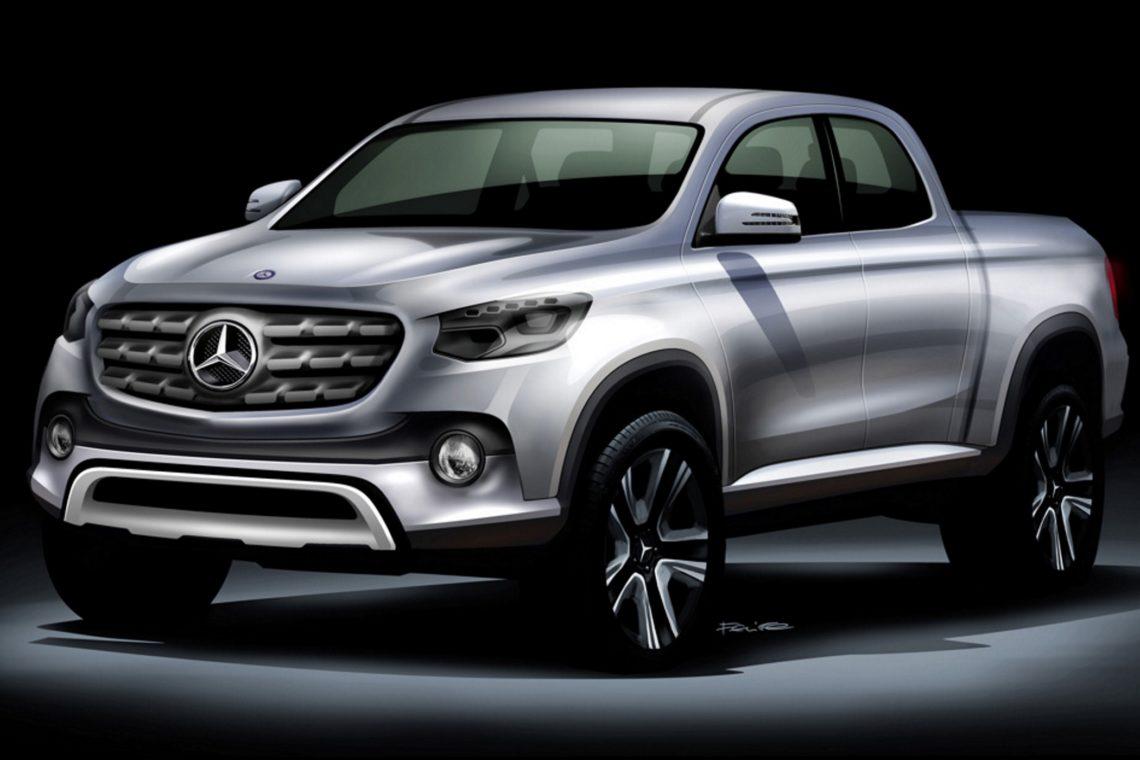 Mercedes-Benz Pick-up in Kooperation mit Renault-Nissan