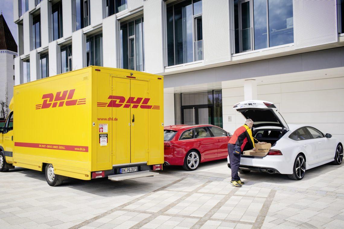 Audi testet DHL Paketstation