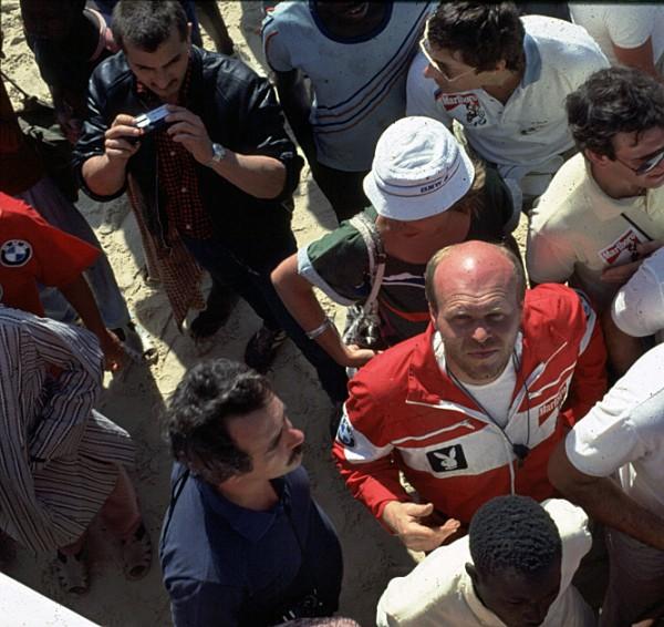 Delta4x4 Gründer Josef Loder bei der RallyeDakar 1985
