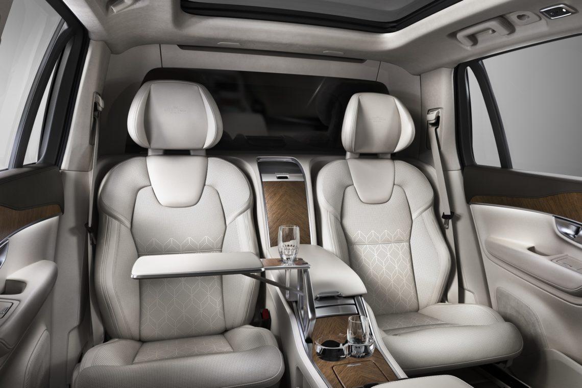 Volvo XC90 Excellence - Luxus-Bar und Massagesitze