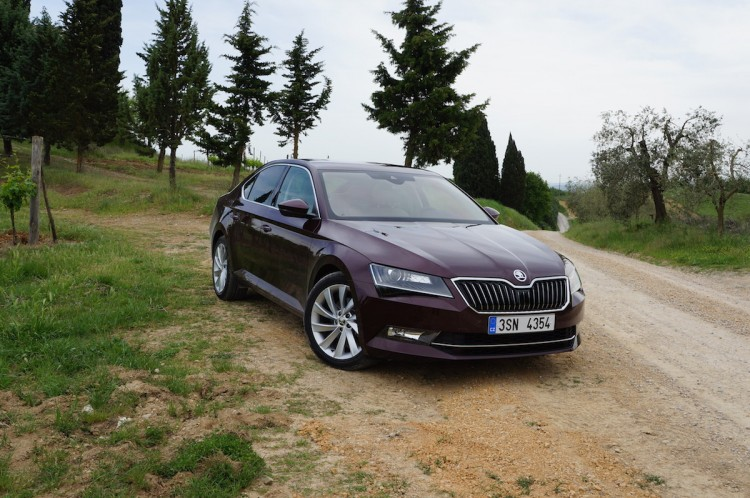 Skoda Superb 2015 Toskana
