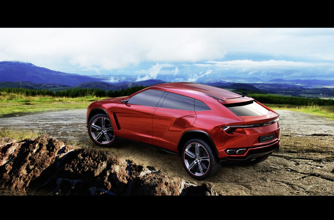 Neues Lamborghini-SUV