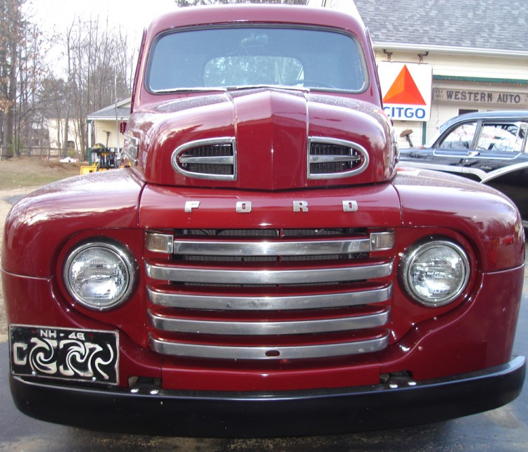 Ford F1 front