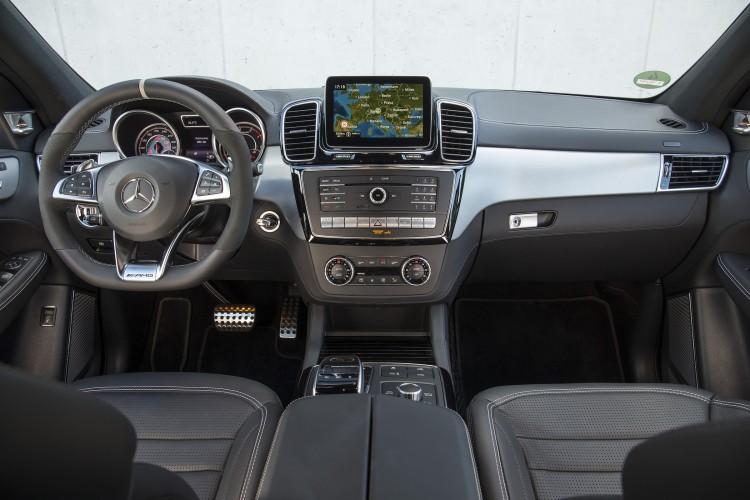 Mercedes GLE AMG 63 Coupé Cockpit