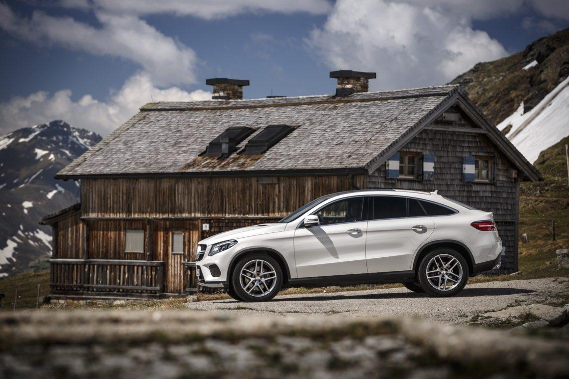 Mercedes GLE Coupé Alphütte