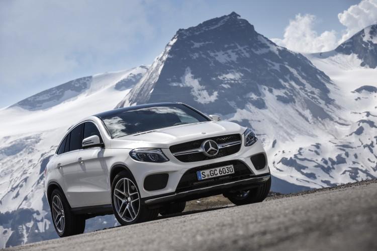Mercedes GLE Coupé Passstrasse