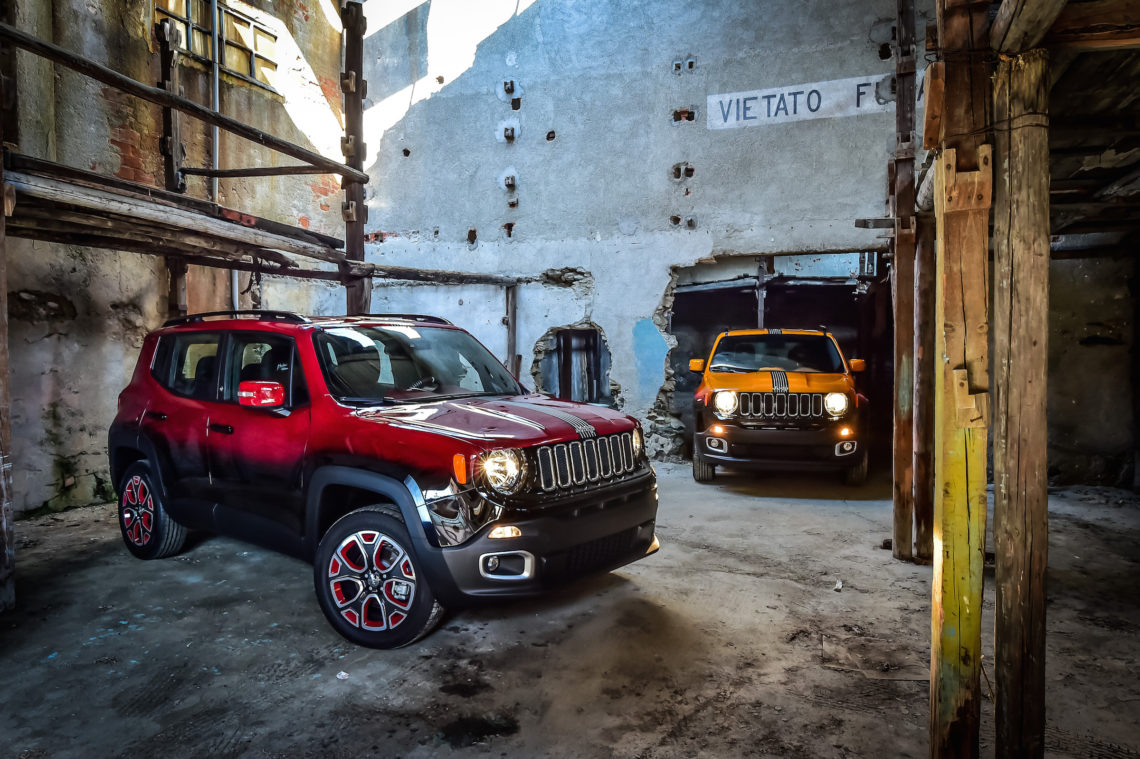 "Jeep Renegade: ""Let's go crazy"""