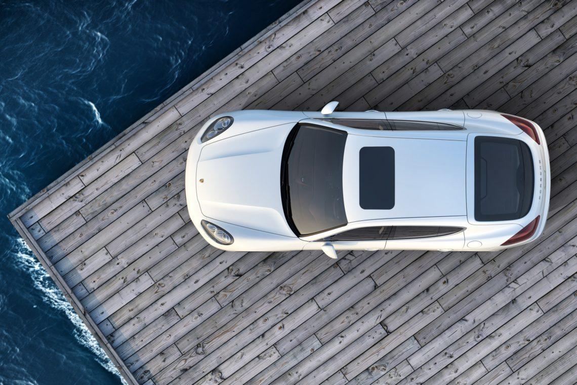 Porsche Pajun: Panameras E-nkel?