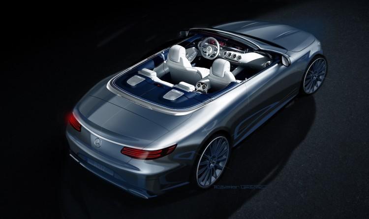 4x4Schweiz News Mercedes S-Klasse Cabriolet Designskizze