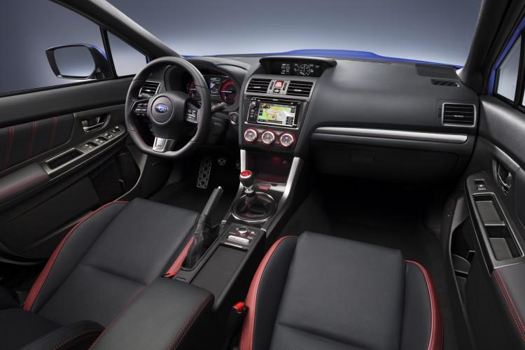4x4Schweiz. Subaru WRX STI 2014 Interior