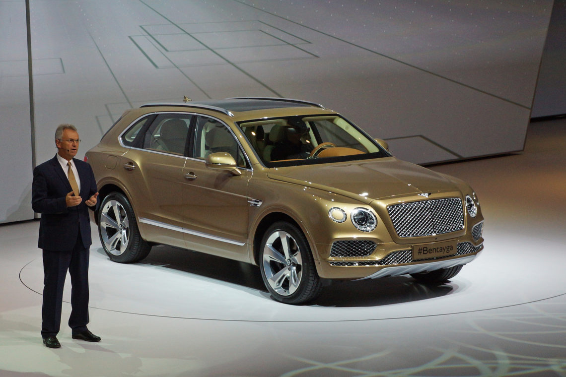 SUV auf der IAA: Millionenseller und Millionärsmodell