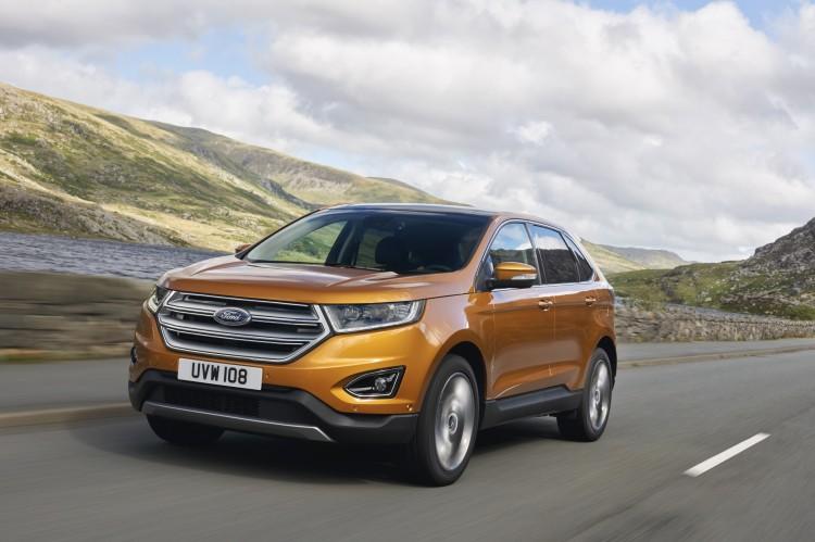 Ford zeigt die Euro-Version des Edge auf der IAA, hier der Ford Edge in der Frontansicht