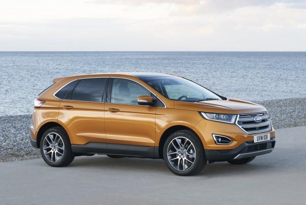 4x4Schweiz News: Ford zeigt die Euro-Version des Edge auf der IAA, hier der Ford Edge in der Seitenansicht