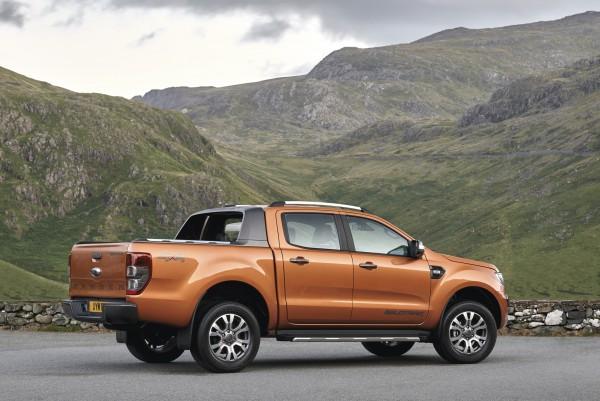 Design und Technik wurden beim neuen Ford Ranger stark überarbeitet