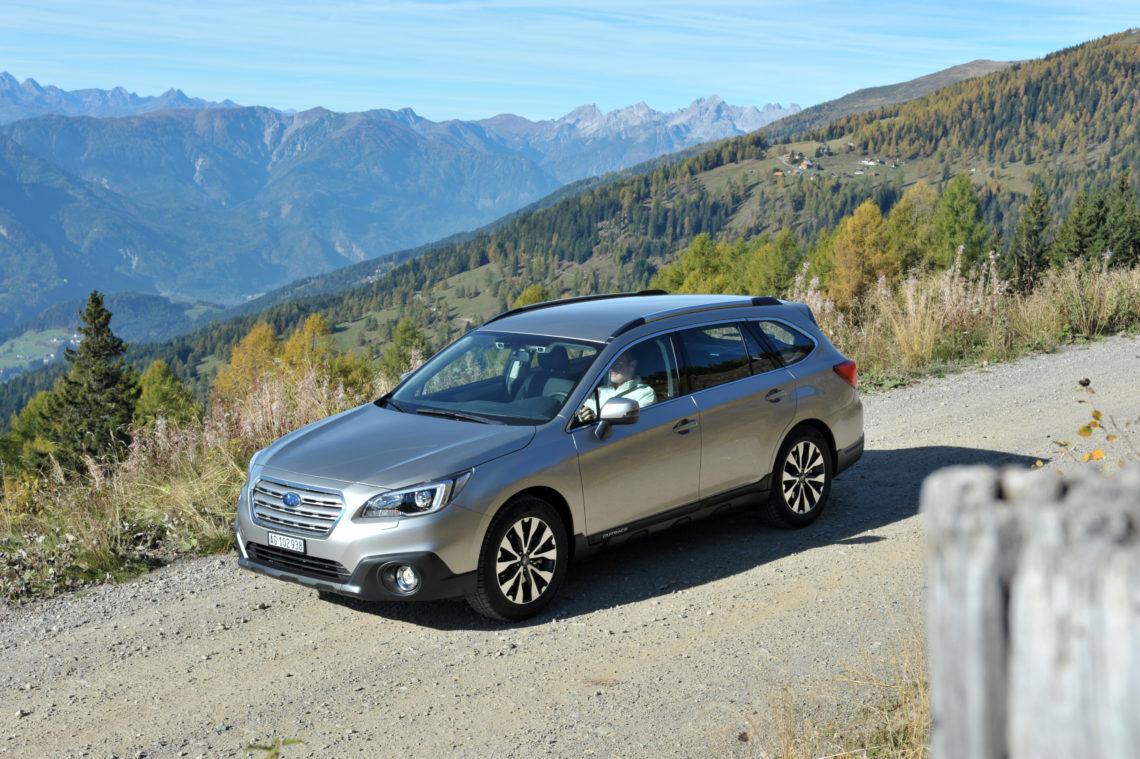 Der Subaru Outback mit EyeSight erzielt Bestnote im JNCAP