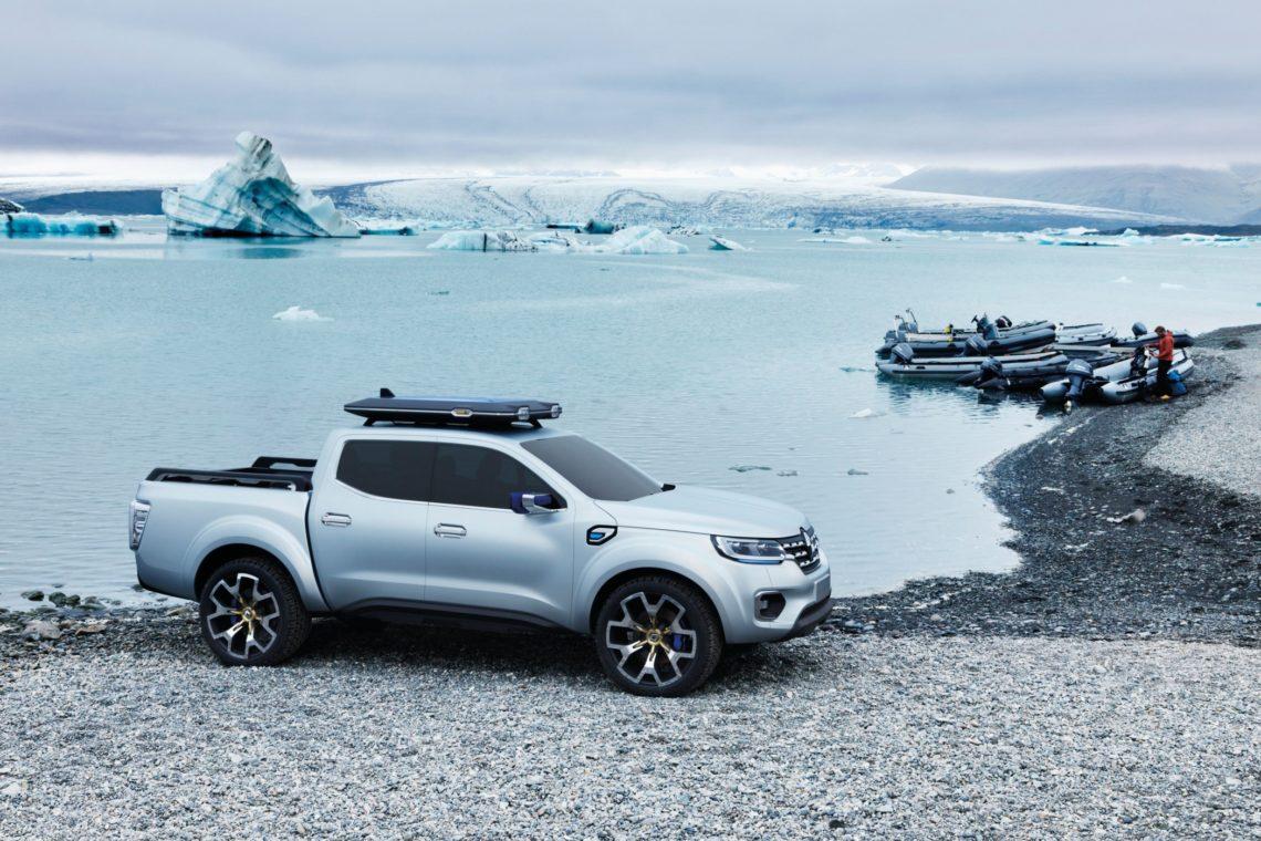 Renault Pick-up-Studie: keine Eiszeit für den Alaskan