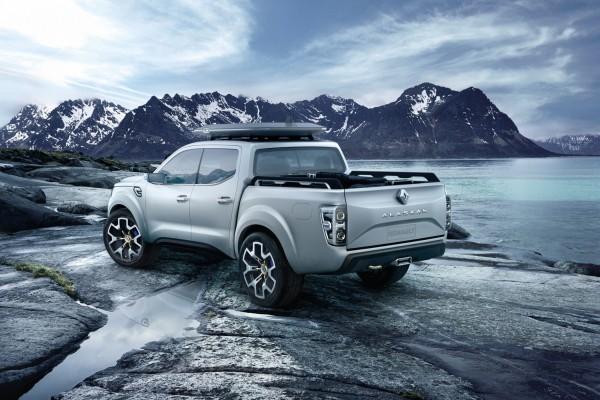 4x4Schweiz-News: Renault präsentiert zur IAA die seriennahe Alaskan Pick-up Studie