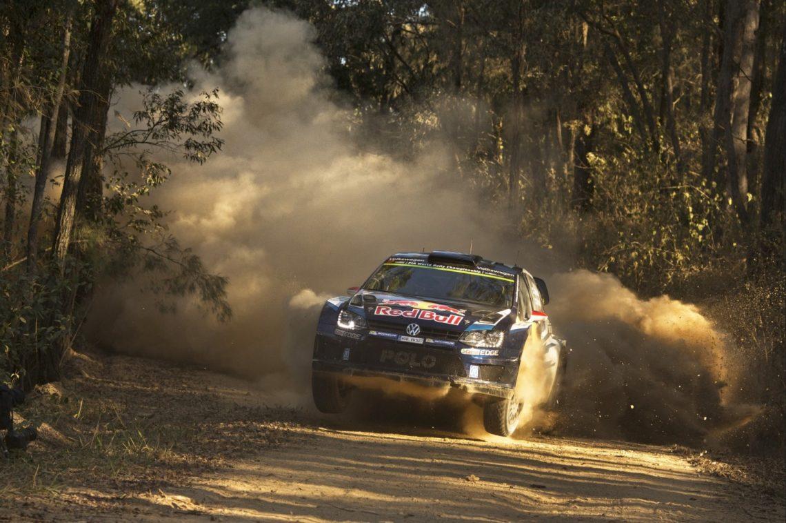 Der VW Polo R WRC sichert sich in Australien vorzeitig die FIA Rallye-Weltmeisterschaft