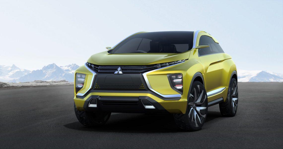 Mitsubishi eX Concept – klein und elektrisch
