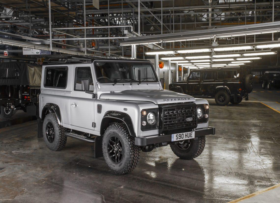 Zwei Millionen Land Rover Defender