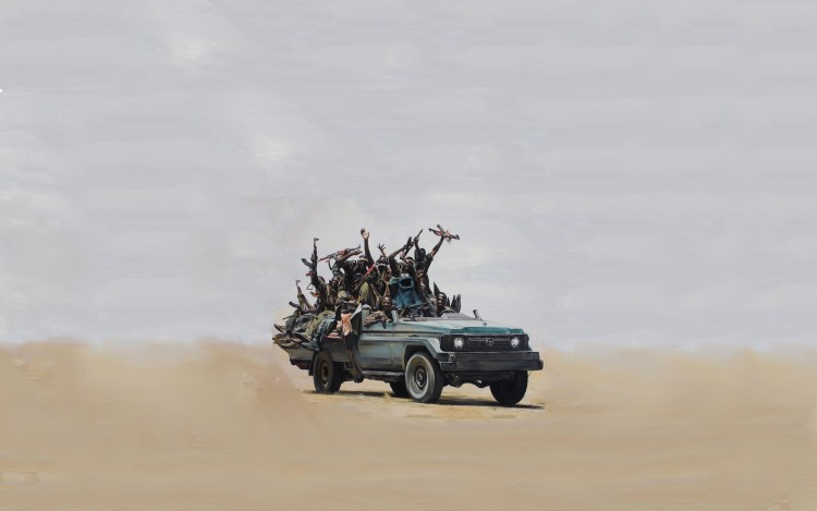 Toyota Landcruiser mit Krümelmonster