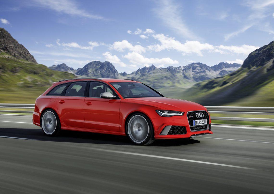 Audi RS6 und RS7 mit noch mehr Dampf