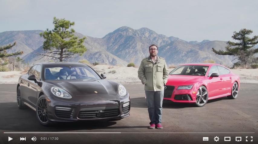 Video: Audi RS7 vs. Porsche Panamera Turbo