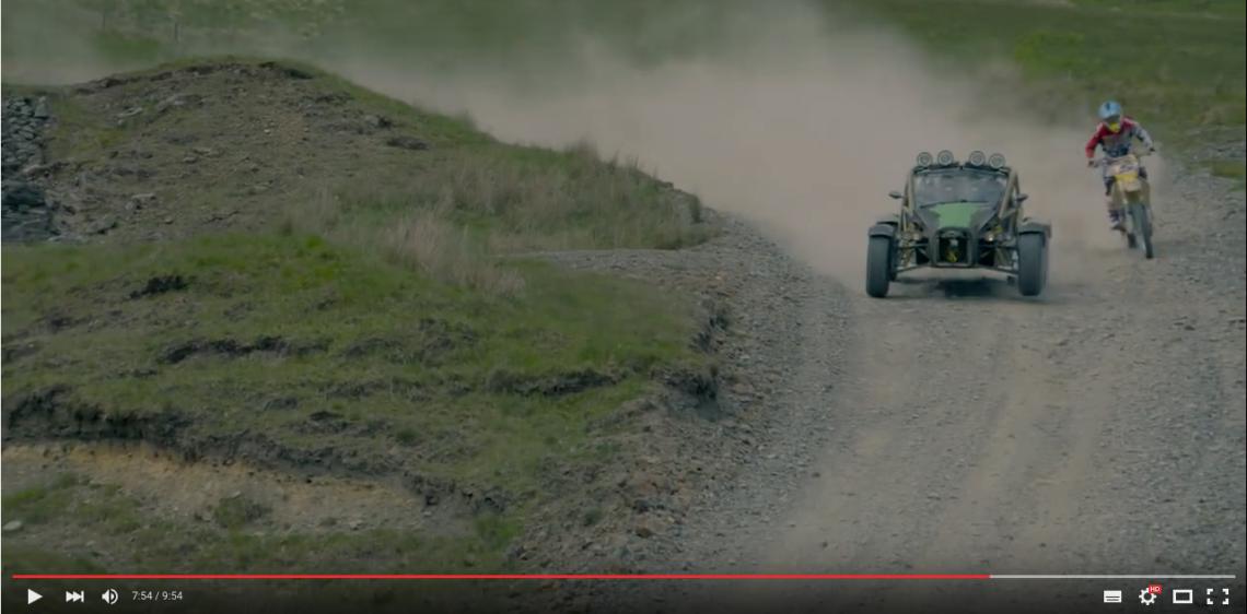Wer ist schneller? ATV oder Motorrad?