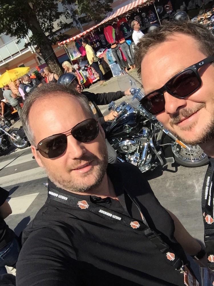 Jeep & Harley-Davidson European Bikeweek 2015 Faak/Austria, 4x4Schweiz-Redaktion