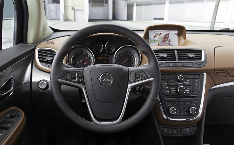 4x4Schweiz-Testbericht: Opel Mokka  Cockpit
