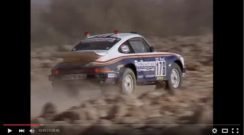 Video: Rallye Paris-Dakar 1984