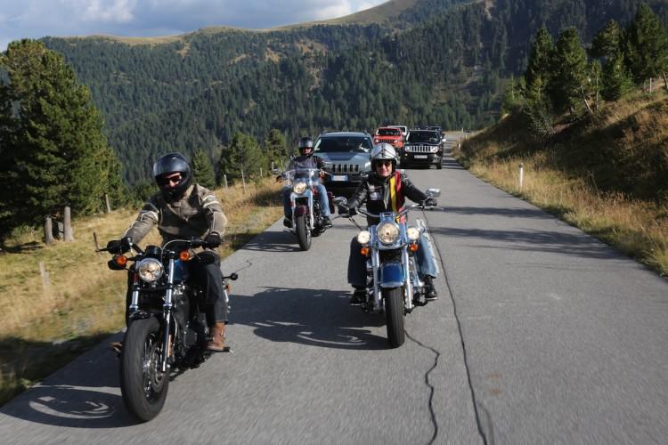 Jeep & Harley-Davidson European Bikeweek 2015 Faak/Austria