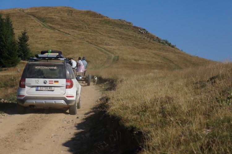 4x4Schweiz-Reportage: Mit dem Skoda Yeti durch die Karpaten