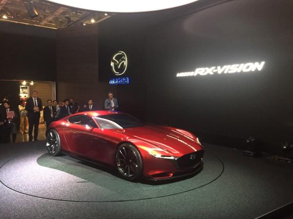 Der Mazda RX-Vision setzt auf den Wankelmotor
