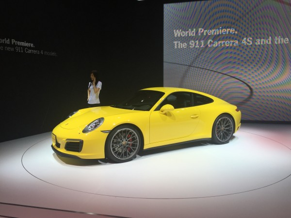 Porsche feiert den gelifteten Allrad-911
