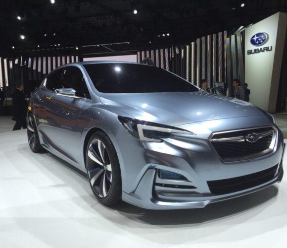 Tokyo Motor Show 2015 Subaru Impreza Concept