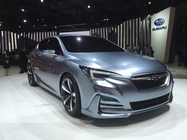 So könnte der kommende Subaru Impreza aussehen