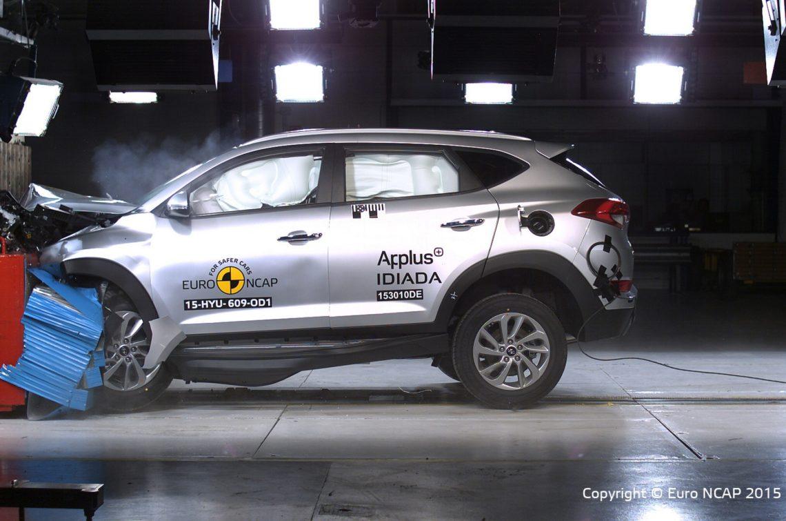 5 Sterne für den Hyundai Tucson