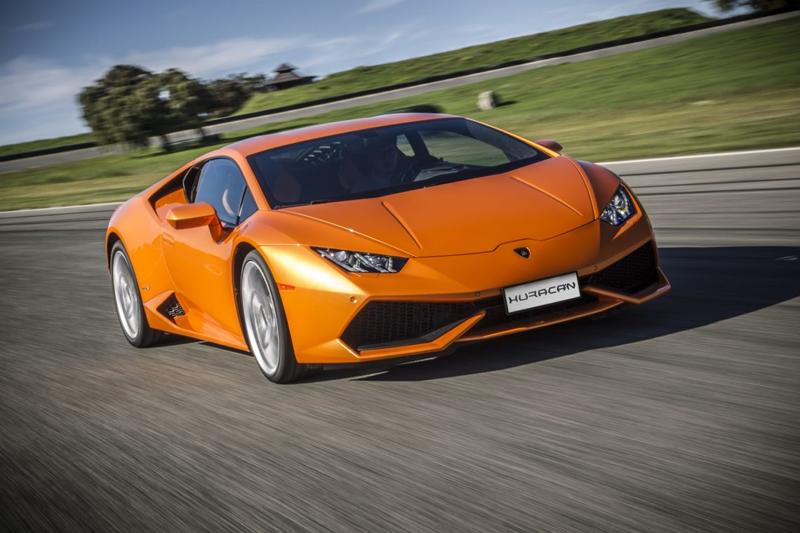 Lamborghini Huracan mit 5-Zylinder?